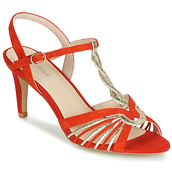 Shoes Women Sandals André CALECHE Red