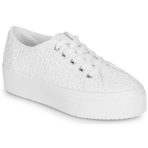 Shoes Women Low top trainers André SODA White