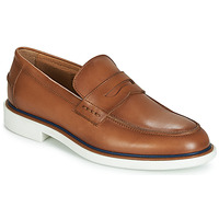 Shoes Men Loafers André MILANO Brown