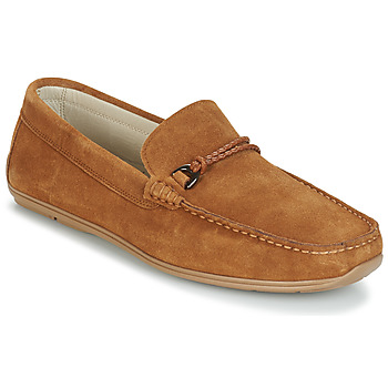 Shoes Men Loafers André TRISSOT Camel