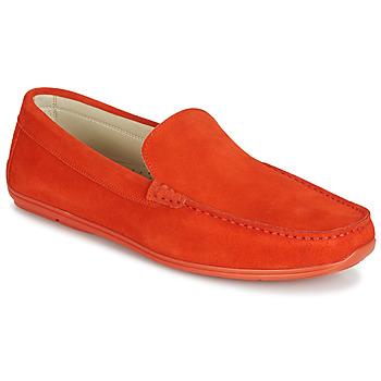 Shoes Men Loafers André BIGOLO Orange