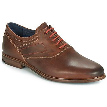 Shoes Men Brogues André HIMALAYA Brown