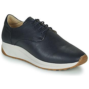 Shoes Men Low top trainers André VELVETINE Blue