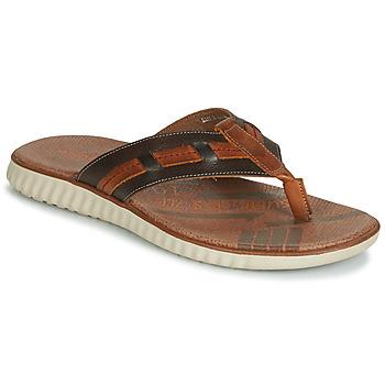 Shoes Men Flip flops André ARAGOSTA Brown