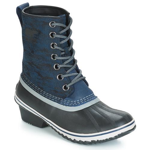 Shoes Women Snow boots Sorel SLIMPACK 1964 Blue / Black