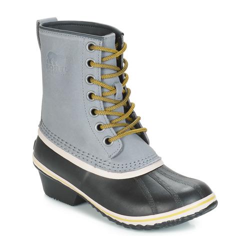 Shoes Women Snow boots Sorel SLIMPACK 1964 Grey / Black