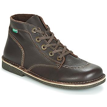 Shoes Women Mid boots Kickers LEGENDIKNEW Brown