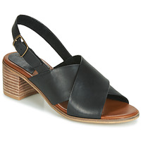 Shoes Women Sandals Kickers VICTORIANE Black
