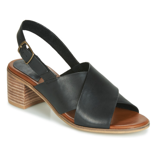 Shoes Women Sandals Kickers VICTORIANE Black