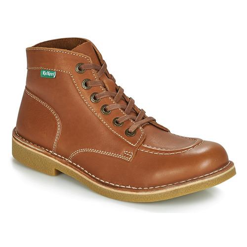 Shoes Men Mid boots Kickers KICKSTONER Camel