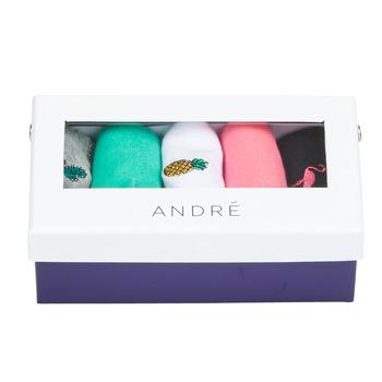 Clothes accessories Women Socks André CACTUS Multicolour