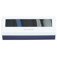 Shoe accessories Men Socks André MATHEW Multicolour
