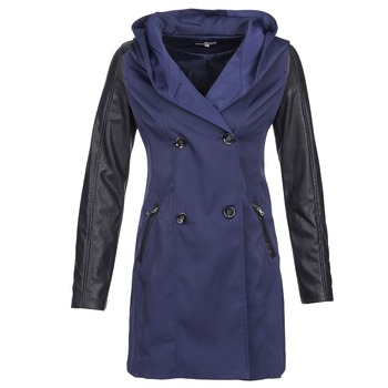 Clothing Women Trench coats Betty London CAMILLE MARINE