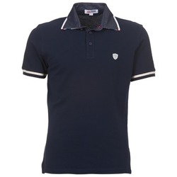 Clothing Men short-sleeved polo shirts Yurban POOLOO MARINE
