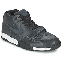 Shoes Men Low top trainers Nike AIR TRAINER 1 MID Black