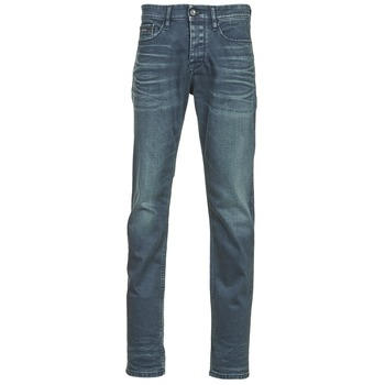 Clothing Men slim jeans Calvin Klein Jeans SLIM STRAIGHT Blue / Dark