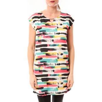 Clothing Women Short Dresses Little Marcel Robe Romine E15FDRE0209 Blanc White