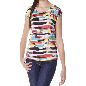Clothing Women short-sleeved t-shirts Little Marcel Tee-shirt Tista E15FTSS0220 Blanc White