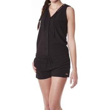 Clothing Women Jumpsuits / Dungarees Little Marcel Combishort Cosbi E15WSHO0203 Noir Black