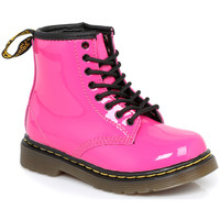 Shoes Children Mid boots Dr Martens Infants Brooklee Hot Pink Boots Pink