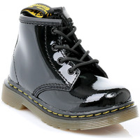 Shoes Children Mid boots Dr Martens Toddler Black Brooklee Boots Black