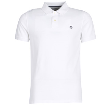 Clothing Men short-sleeved polo shirts Timberland SS POLO White