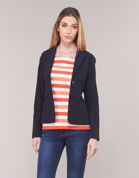 Clothing Women Jackets / Blazers Marc O'Polo CARACOLIDE Marine