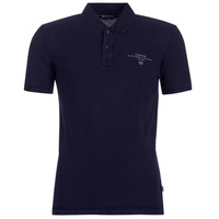 Clothing Men short-sleeved polo shirts Napapijri ELBAS 2 Marine