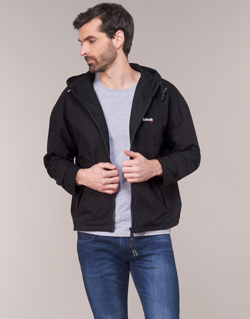 Clothing Men Jackets Schott FLORIDA Black