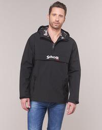 Clothing Men Jackets Schott PIKES 1 Black