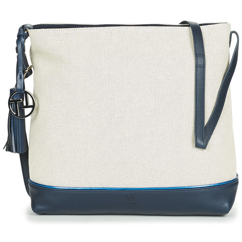 Bags Women Small shoulder bags Texier OLIVIA White / Marine