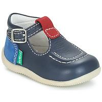 Shoes Children Flat shoes Kickers BONBEK Marine