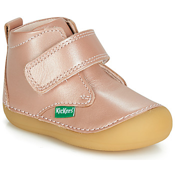 Shoes Girl Mid boots Kickers SABIO Pink