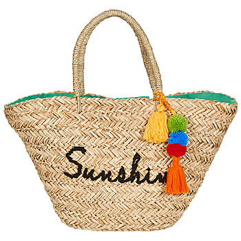 Bags Women Shopping Bags / Baskets André HOLLY Beige