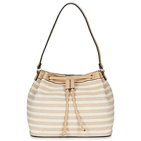 Bags Women Small shoulder bags André BLANDINE Beige