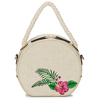 Bags Women Small shoulder bags André ISALYNE Beige
