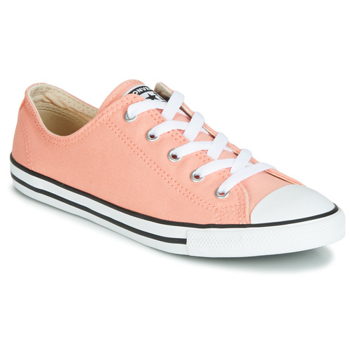 Shoes Low top trainers Converse ALL STAR DAINTY OX Red