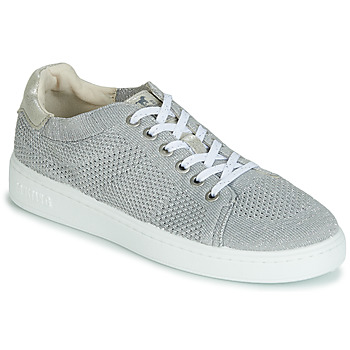 Shoes Women Low top trainers Mustang 1321301-23 Silver