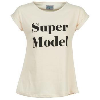 Clothing Women short-sleeved t-shirts Compania Fantastica HITTU White