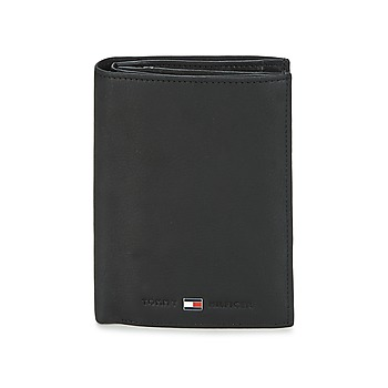 Bags Men Wallets Tommy Hilfiger JOHNSON N/S WALLET W/COIN POCKET Black