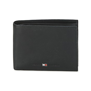 Bags Men Wallets Tommy Hilfiger JOHNSON CC AND COIN POCKET Black