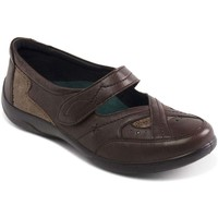 Shoes Women Loafers Padders Cello Womens Casual Shoe brown
