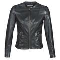 Clothing Women Leather jackets / Imitation leather Naf Naf