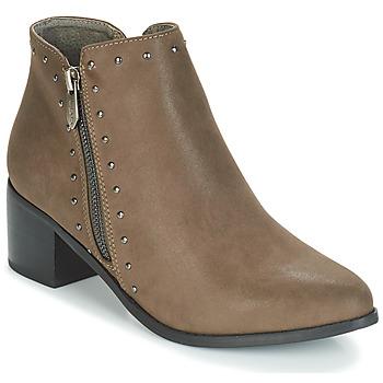Shoes Women Ankle boots LPB Shoes JUDITH Kaki