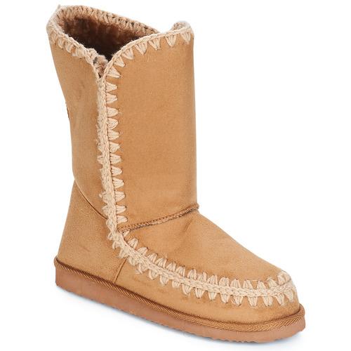 Shoes Women High boots LPB Shoes NATHALIE Camel