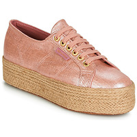 Shoes Women Low top trainers Superga 2790 LINRBRROPE Pink