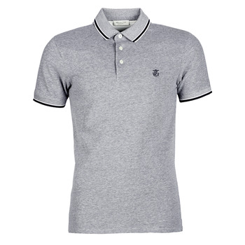 Clothing Men short-sleeved polo shirts Selected SLHTWIST Grey