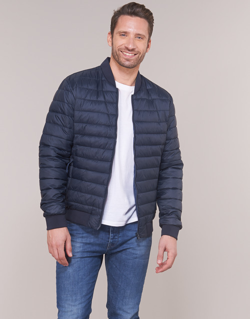 Clothing Men Duffel coats Selected SLHPADDED BOMBER Marine