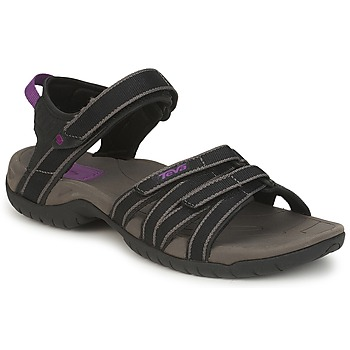 Shoes Women Outdoor sandals Teva TIRRA Black / Grey