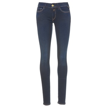 Clothing Women slim jeans Replay LUZ Blue / Dark
